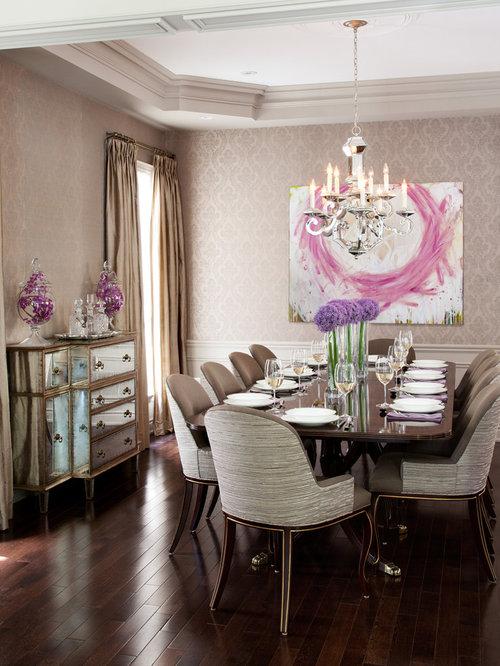 Dining Room Wallpaper Houzz