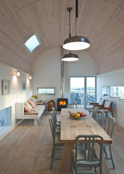 Contemporary Dining Room by Denizen Works