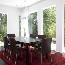 Transitional Dining Room by Anthony Wilder Design/Build, Inc.