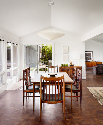 Contemporary Dining Room by Mark Ashby Design