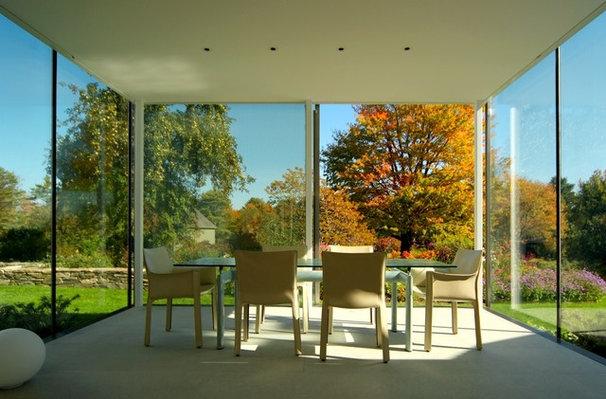 Contemporary Dining Room by Elliott + Elliott Architecture