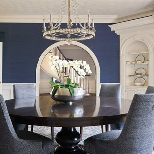 75 Beautiful Wallpaper Dining Room Pictures Ideas February 2021 Houzz