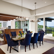 Contemporary Dining Room by LaRue Architects