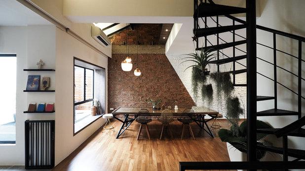Contemporary Dining Room by Studio Super Safari