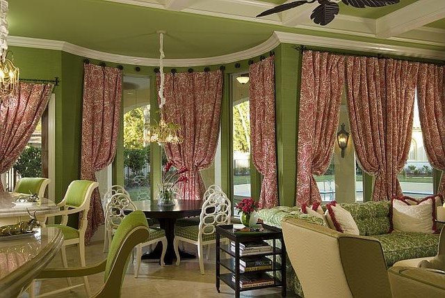 Eclectic Dining Room by CIH Design