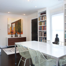 Contemporary Dining Room by Ellsworth-Hallett Home Professionals