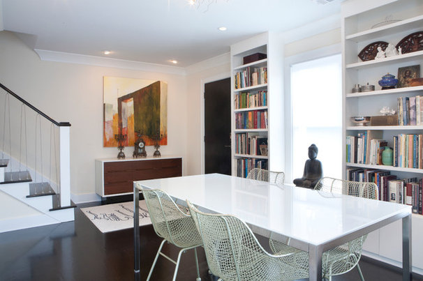Contemporary Dining Room by Ellsworth-Hallett Home Professionals