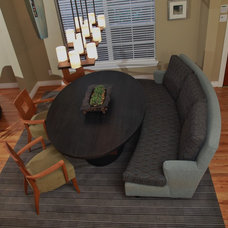 Modern Dining Room by grettworks