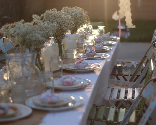 outdoor table settings home design ideas pictures remodel and decor