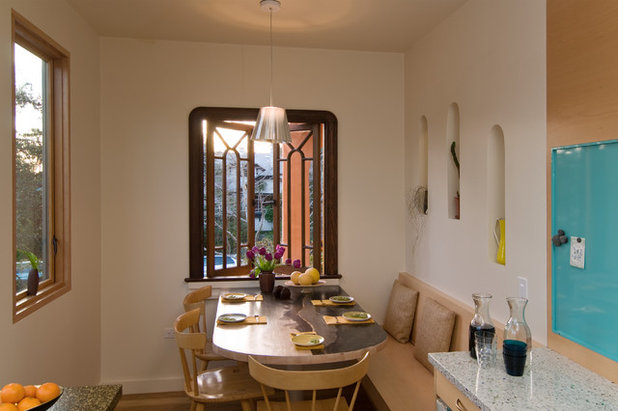 Contemporary Dining Room Houzz Tour: Building Up to a View in Berkeley