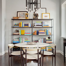 Transitional Dining Room Houzz Tour: Modern History
