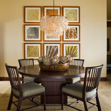 Contemporary Dining Room by Henderson Design Group