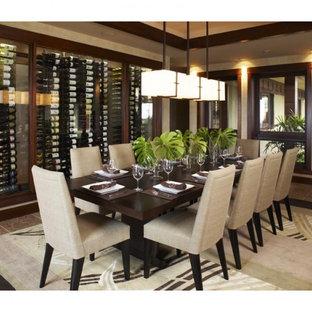 Идея дизайна: столовая в восточном стиле