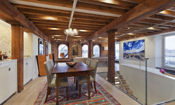 Hudson River Duplex Dining Room