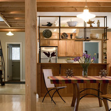 Contemporary Dining Room by Battle Associates, Architects