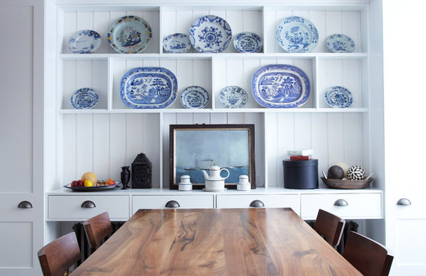 Eclectic Dining Room by Chris Dyson Architects