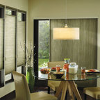 Hunter Douglas Full Product Line - Hunter Douglas Applause Honeycombs shades with top down bottom up and a Vertiglide honeycomb for over the patio door! - Today's Window Fashions Andover
