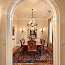 Traditional Dining Room by The PFA Design Group