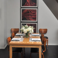 Contemporary Dining Room by Nicholas Moriarty Interiors