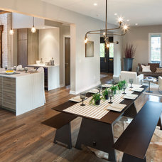 Contemporary Dining Room by RM Interiors