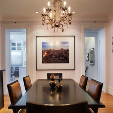 Traditional Dining Room by Mia Rao Design