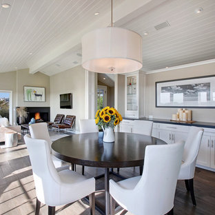 Transitional great room photo in Orange County
