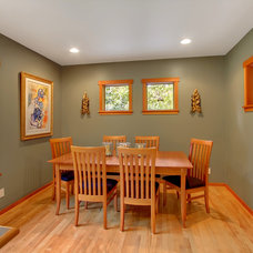 Craftsman Dining Room by Patina Design Architects