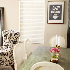 Eclectic Dining Room I love you, blogs and coffee print by MadeByGirl