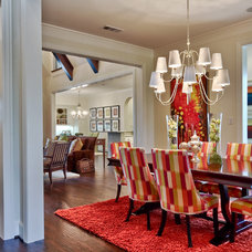 Traditional Dining Room by IBB Design Fine Furnishings