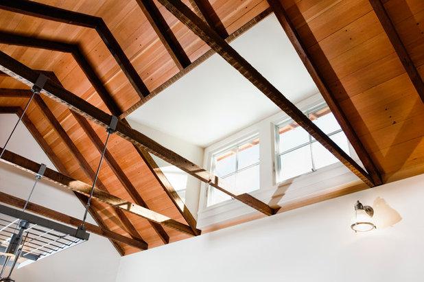 Farmhouse Dining Room by Arkin Tilt Architects