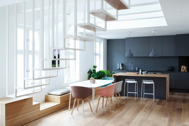 Scandinave Salle à Manger by Haptic Architects