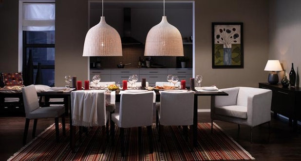 Modern Dining Room by IKEA
