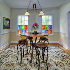 Traditional Dining Room by Imaging Austin