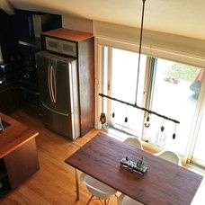 Midcentury Dining Room by Katrina Guevara