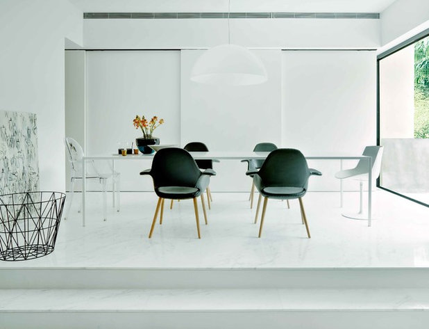 Modern Dining Room by SPACEDGE