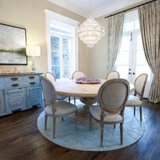 Traditional Dining Room by Wyrick Residential Design