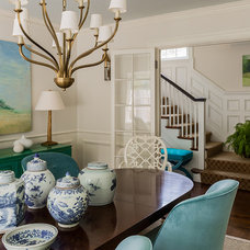 Contemporary Dining Room by Katie Rosenfeld Design