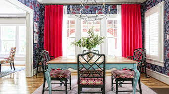 In the Pink Dining Room