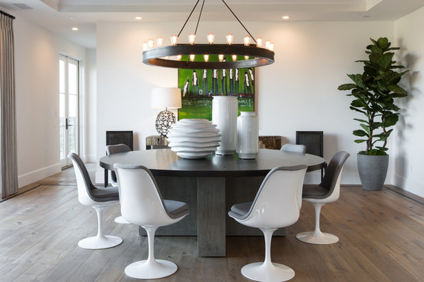 Contemporary Dining Room by Denise Morrison Interiors & House of Morrison
