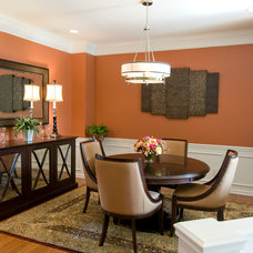 Traditional Dining Room by In Touch Designs by Elita LLC
