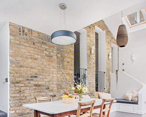 Photo Of A Modern Dining Room In London.