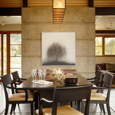 Contemporary Dining Room by OSM Wyoming, Inc.