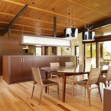 Modern Dining Room by Carney Logan Burke Architects
