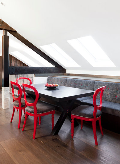 Industrial Dining Room by Camilla Molders Design