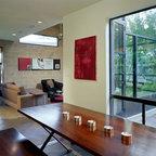 H45 Loft Industrial Living Room Portland By