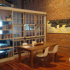 Industrial Dining Room by Living2Design