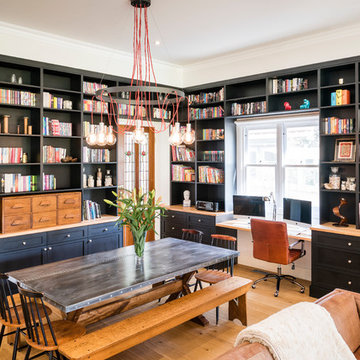 Industrial Kitchen and Library