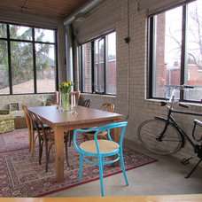 Industrial Dining Room by Jenn Hannotte / Hannotte Interiors