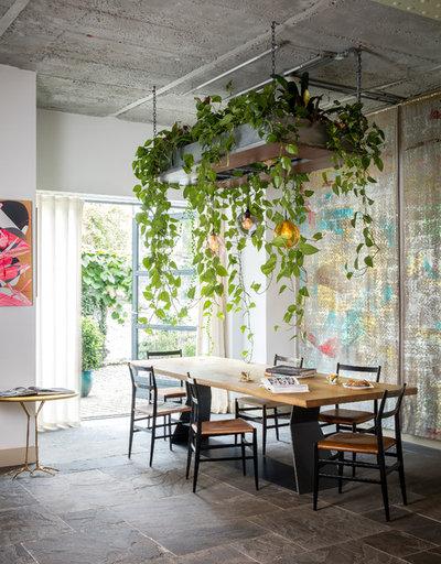 Éclectique Salle à Manger by Cooley & Rose