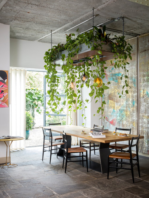 75 Trendy Eclectic Dining Room Design Ideas - Pictures of Eclectic ...